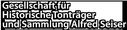 Gesellschaft für Historische Tonträger